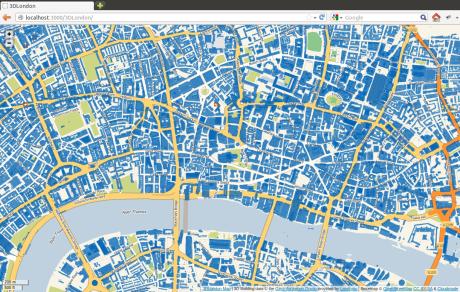 3DLondon map screenshot