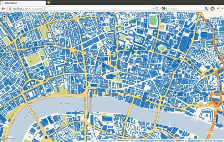 3DLondon map screenshot