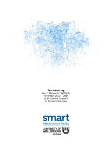 PetaJakarta Year 1 Report Cover